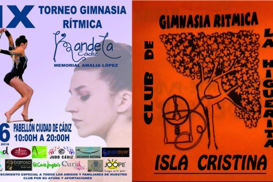 El club la higuerita en el IX Torneo de gimnasia rítmica Kandela