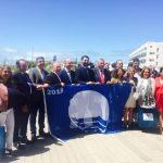 Recogida de la Bandera Azul concedida por ADEAC a la Playa de Islantilla