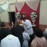 Participación de la Hermandad del Rocío de Isla Cristina en el Corpus Christi