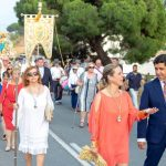 Con la procesión de María Auxiliadora terminan las fiestas en Pozo del Camino