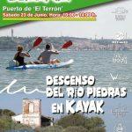 Descenso del Piedras en Kayak en los Sábados Deportivos de Islantilla