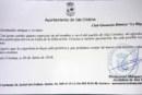 """Agradecimiento del Ayuntamiento de Isla Cristina al club de gimnasia ritmica """"la Higuerita"""""""