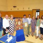 Presentado el cartel que anuncia la imposición de la Medalla de la Ciudad a la Virgen del Mar