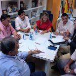 Los pueblos de la Costa se reúnen con el Consorcio de Transportes