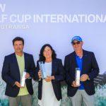 Gonzalo Cabot Cienfuegos, ganador del BMW Golf Cup en Islantilla