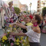 Celebrada la Tradicional Ofrenda a la Virgen del Carmen
