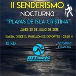 II Senderismo Nocturno 'Playas de Isla Cristina' que organiza Fittrainer10