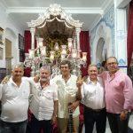 Los Amigos del Poblao Canta la Salve en la Hermandad del Rocío de Isla Cristina