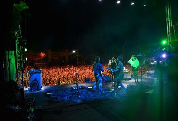 Algunos de los grupos que actuaron en el concierto del sábado en el IslaGo Isla Cristina 2018