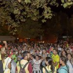 Más de 250 personas participan en la II Ruta de Senderismo 'Playas de Isla Cristina'