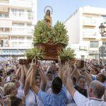 Misa y Procesión ponen el punto final a las fiestas patronales en Punta del Caimán