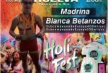 Blanca Betanzos, en Music Run Colors Huelva