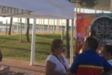 El Paseo de la Ría ya vive el ambiente de Huelva Music Run Colors