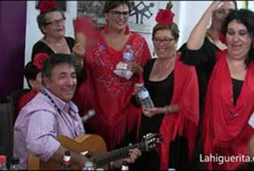 Fandangos de José Antonio Aguilera y el Coro del Centro de Día en la Sede de Asoifal