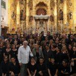 Gran actuación de la Coral Polifónica Isla Cristina en el Centenario de la Coronación de la Virgen del Rocío
