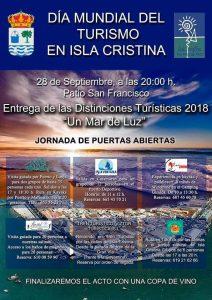Día mundial del Turismo en Isla Cristina