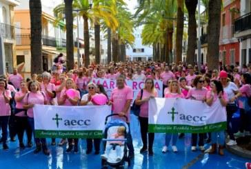 I Marea rosa contra el cáncer de mama en Isla Cristina