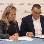 Ayuntamiento y Diputación firman convenio para subvencionar materiales del Ayuntamiento isleño