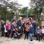 Visita a Coria del Río con motivo de la Ruta Blas Infante