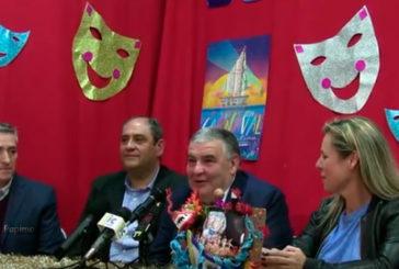 Presentación del Pregonero del Carnaval de Isla Cristina 2019 José Manuel Escobar Martín