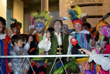 Pito de Caña da el Pistoletazo de salida al Carnaval de calle en el Carnaval de Isla Cristina 2019