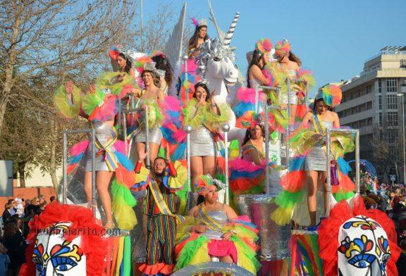 Cabalgata de conjuntos y disfraces del Carnaval de Isla Cristina 2019
