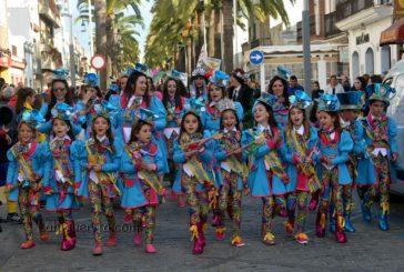 lunes de disfraces del Carnaval de Isla Cristina 2019