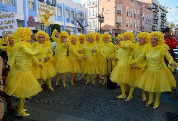 Lunes de disfraces en el Carnaval de Calle de Isla Cristina en el Carnaval de Isla Cristina 2019