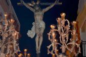 Salida Procesional del Cristo de la Buena Muerte de la Semana Santa de Isla Cristina 2019