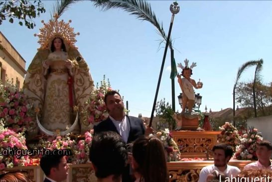 Puja de las Varas de La Virgen de la Esperanza y del Niño de La Bola