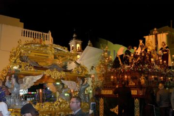 Procesión del Santo Entierro de la Semana Santa de Isla Cristina 2019