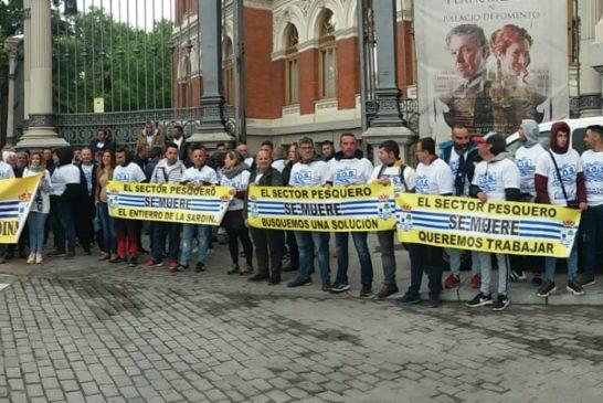 Entrevistas de los principales representantes del Sector pesquero de Isla Cristina en Madrid