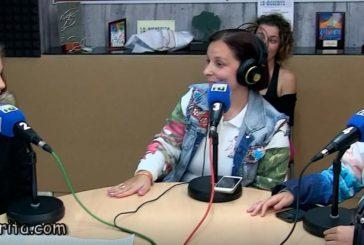 Entrevista de radio Isla Cristina a Victoria Cadena y Victoria Pérez del Club de G. R. la Higuerita