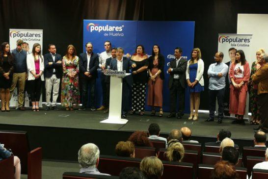Francisco González presenta su Candidatura Populares Isla Cristina a las elecciones municipales del próximo 26 de mayo