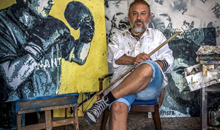 Miguel Ángel Concepción muestra en Isla 'La Geometría de la Bomba'