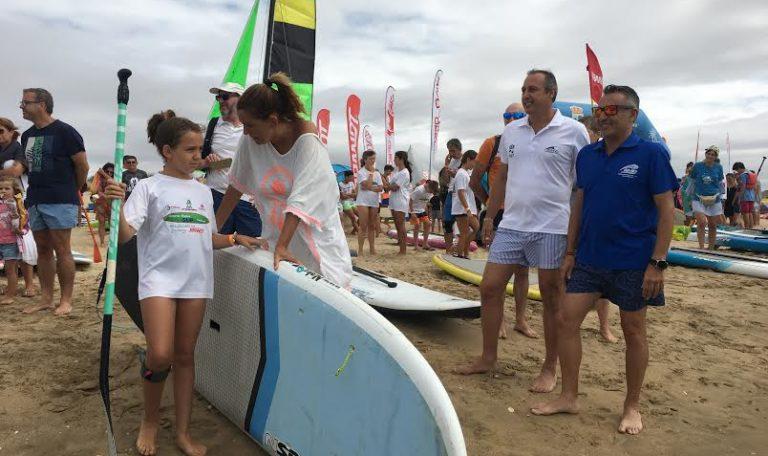Isla Cristina congregó a los amantes del Paddle Surf