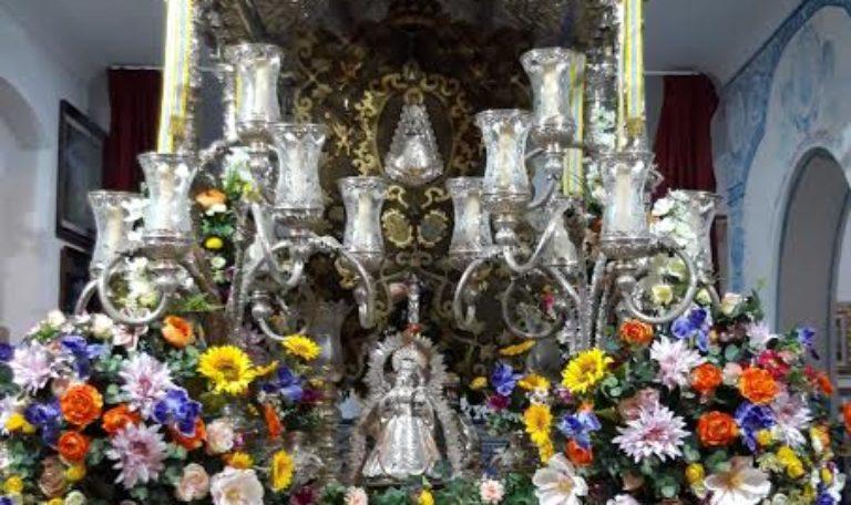 Oración cantada en la Hermandad del Rocío de Isla Cristina
