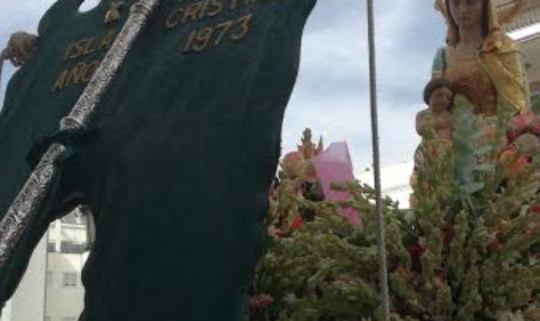 Encuentro del Simpecado de la Virgen del Rocío y la Virgen del Mar