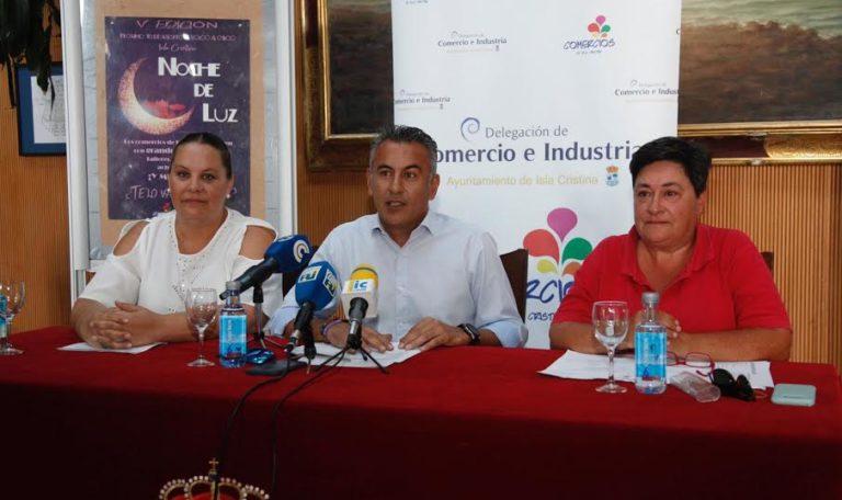 Isla Cristina presenta su quinta Noche de Luz