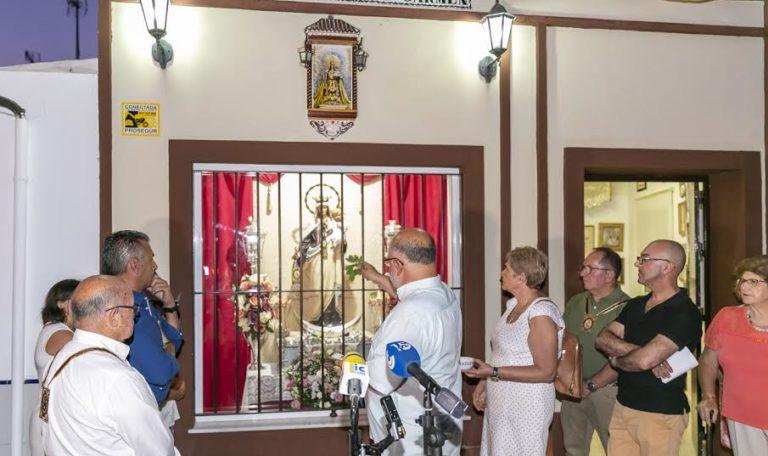 La Casa-Hermandad del Carmen de Isla Cristina estrena capilla e imagen