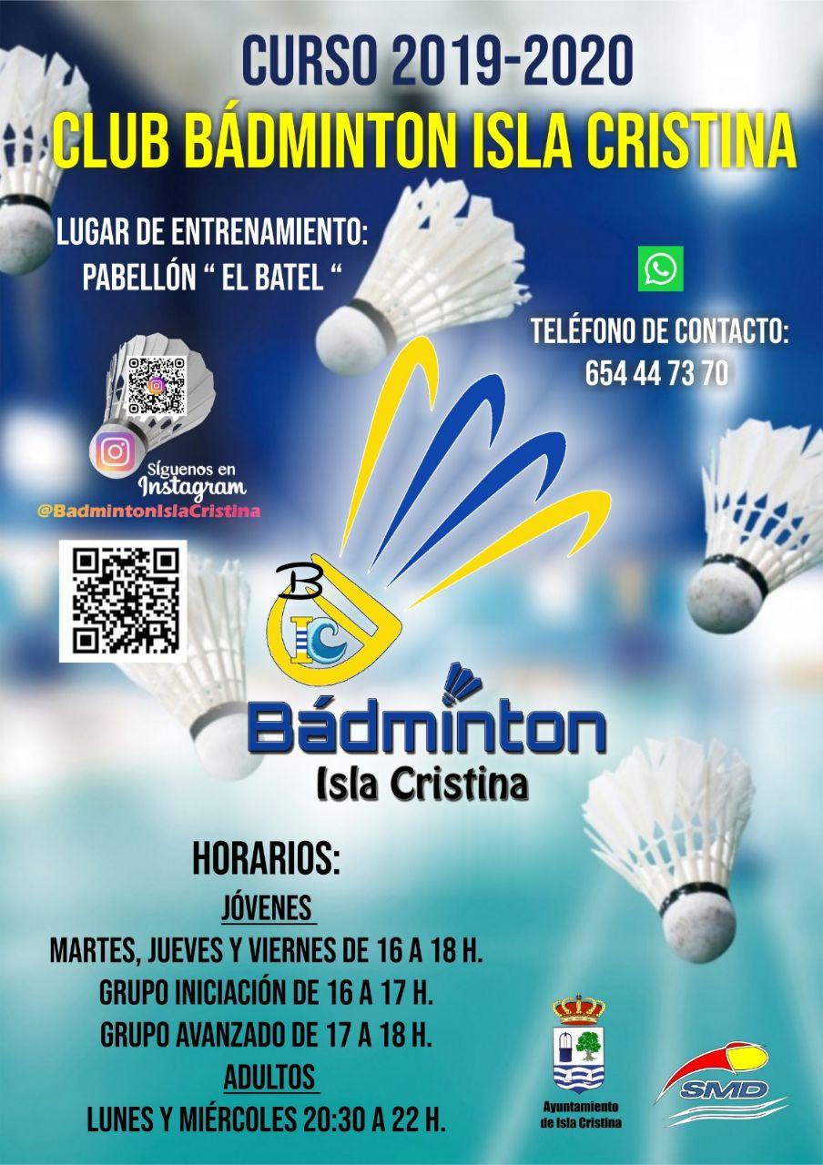 Una nueva temporada con el Bádminton en Isla Cristina