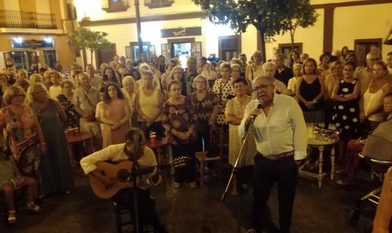 Diego Martín Jara canta la Salve en la Hermandad del Rocío de Isla Cristina