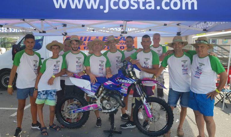 Un isleño gana las 24 horas de ciclomotores de Cataluña