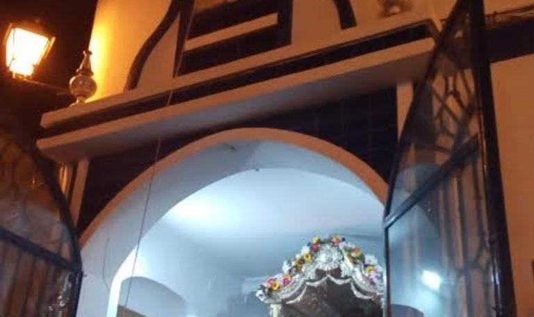 Oración por todos los Santos y difuntos en la Hermandad del Rocío de Isla Cristina