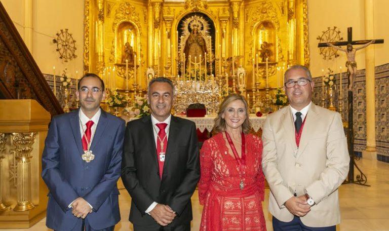 Con la Exaltación a la Virgen del Rosario se da el pistoletazo de salida a las Fiestas Patronales