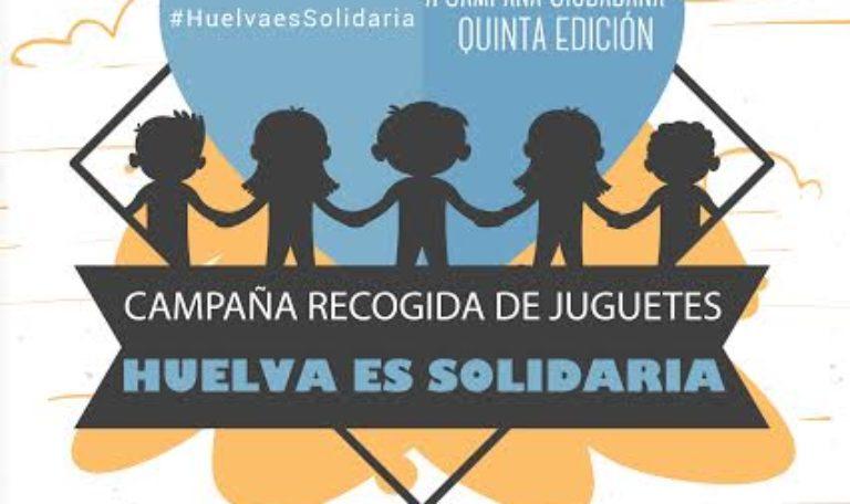 Campaña de recogida de juguetes 'Huelva es Solidaria'