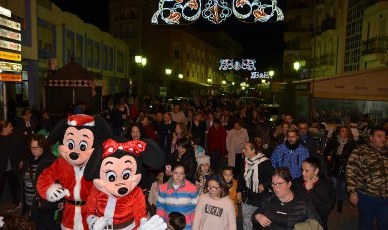 Comienza la Navidad en Isla Cristina