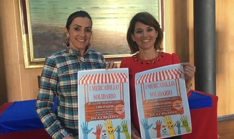 Isla Cristina se suma al Día de las personas con Discapacidad con un Mercadillo Solidario protagonizado por la Comunidad Educativa