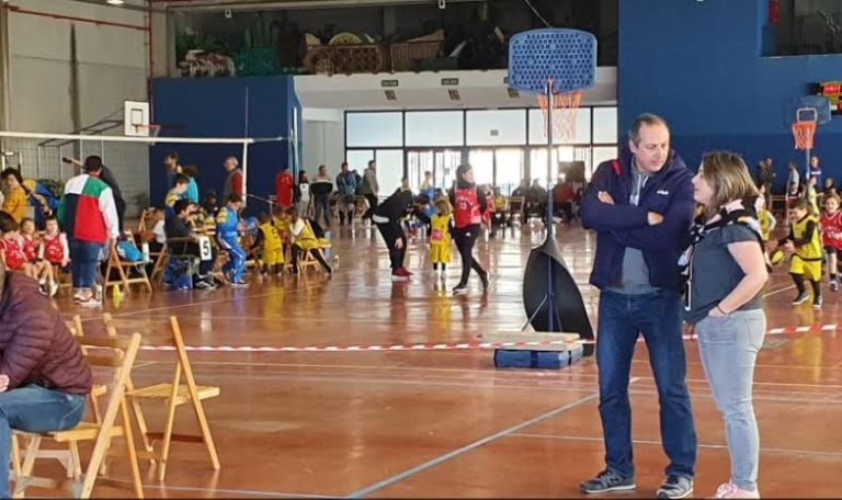 Isla Cristina se suma a la fiesta del Baloncesto con la celebración del Babybasket 2020 en el que participan seiscientos jugadores de entre 5 y 9 años