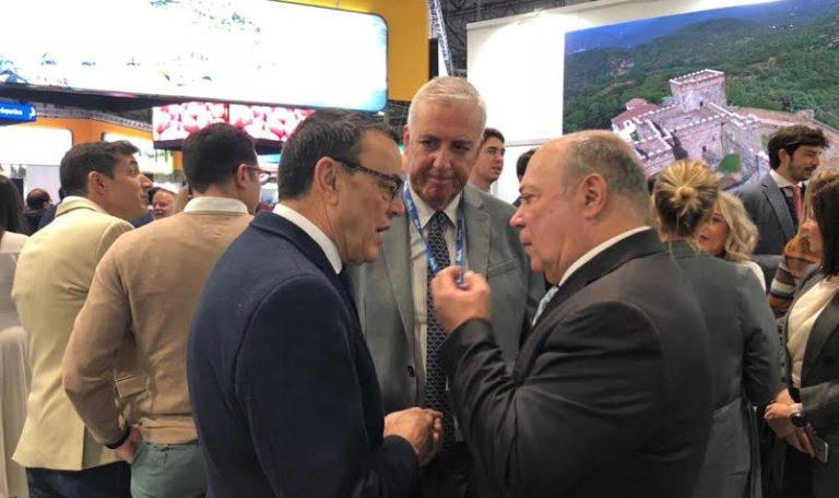 Intensa agenda de trabajo de la delegación isleña en FITUR